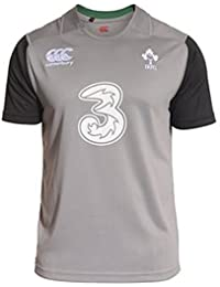CANTERBURY Irland Training SS Rugby-Shirt – Kinder