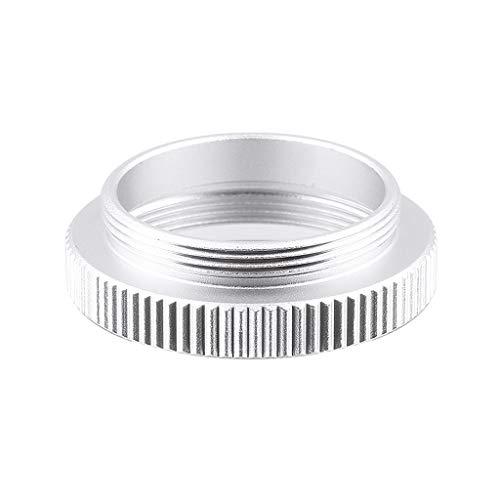 WINJEE, 5MM Silber Macro C auf CS Mount Adapter Ring Verlängerungsrohr für CCTV-Filmobjektiv Nex M4 / 3 Nikon Überwachungskamera Cs-mount-adapter