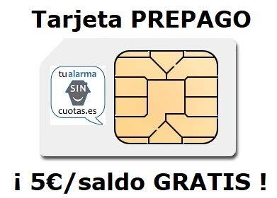 Tarjeta SIM PREPAGO con 5 Euros y multiformato, SIN cuotas fijas mensuales...