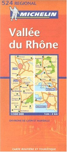 Vallée du Rhône. : 1/200 000