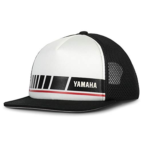 Erwachsene Cap REVS Yamaha Original Speedblock Mütze Motorradhut Gare MotoGP SBK Road Off-Road Twill Mesh Cap