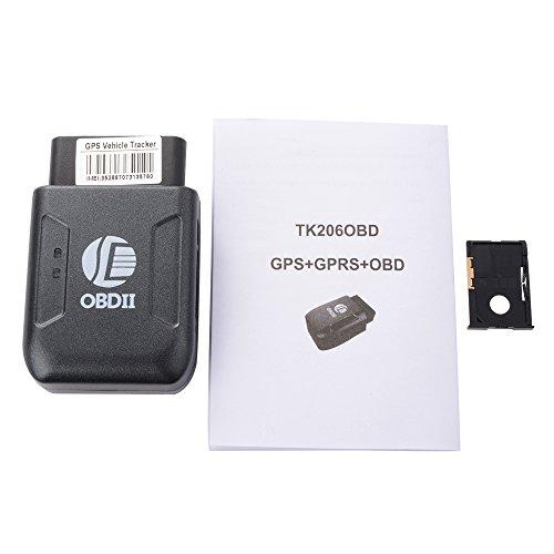 XCSOURCE OBD II Mini GSM GPRS Traceur GPS en Temps Réel Surveillance Camion Suivi pour Véhicules AH209