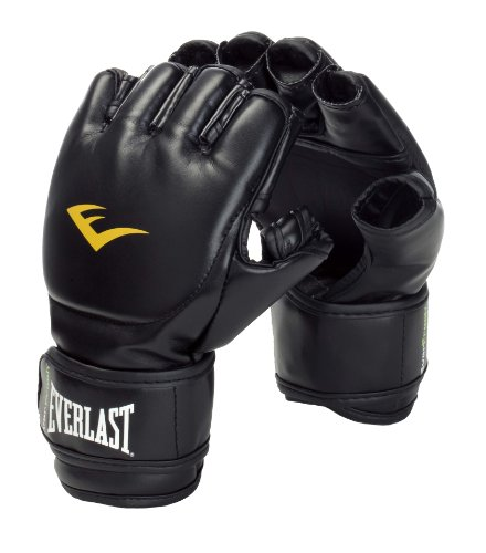 Everlast 7560 Grappling Handschuh Pu , black, sm Image