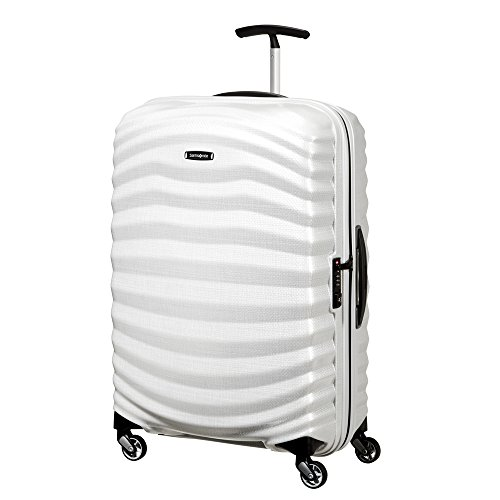 SAMSONITE Lite-Shock Spinner 75/28 Koffer, 75 cm, 98.5 L, Off White