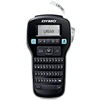 DYMO LabelManager 160 Thermal transfer label printer - Label Printers (Thermal transfer, LCD, 1.2 cm, D1, Black, Silver, QWERTY)