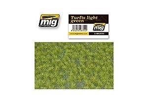AMMO MIG-8354 Turfts - Alfombrillas de césped Verde, Multicolor