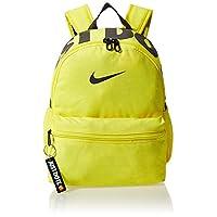 Nike Unisex-Child Backpack, Yellow/Grey - Ba5559-740