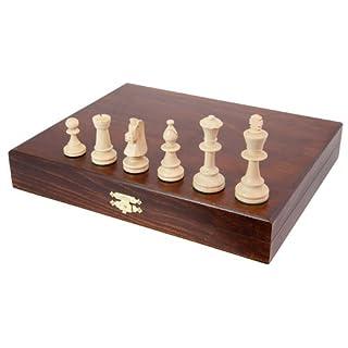 Albatros AW1579927 - Holz-Schachfiguren nach Staunton 5