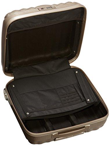 Samsonite LITE-CUBE ROLLING TOTE Laptop Rollkoffer, 28.5 Liter, Graphit IVORY GOLD