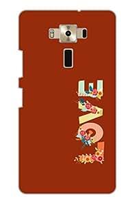 TEMPER Love Color 3D Back Cover for Asus Zenfone 3 ZE520KL