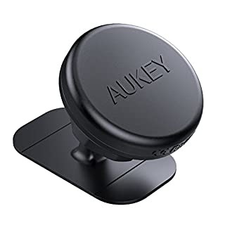 AUKEY KFZ Halterung Magnetische zum Aufkleben Armaturenbrett 360 Grad Handyhalterung Auto Universal für iPhone 7/7 Plus, Samsung Note 8, Android Windows Smartphones und weitere Geräte