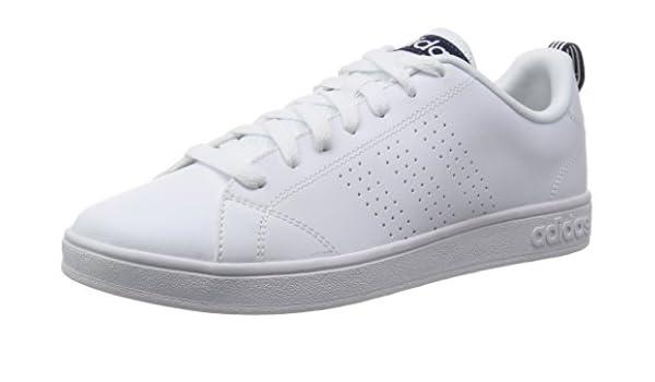 adidas VS Advantage Clean, Baskets Homme, Noir (Core Black/Core Black/Lead), 47 1/3 EU