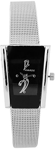 amaze analogue black dial women's watch - 10i Amaze Analogue Black Dial Women's Watch – 10I 41VJE4Y9hwL