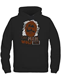 Sudadera con capucha One Man Wolfpack by Shirtcity