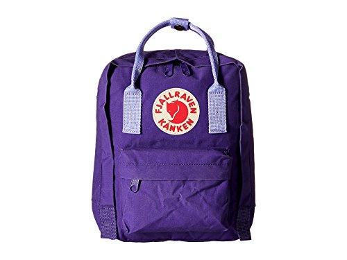 FJÄLLRÄVEN Kånken Mini Rucksack, Purple-Violet, 29 x 20 x 13 cm, 7 L -