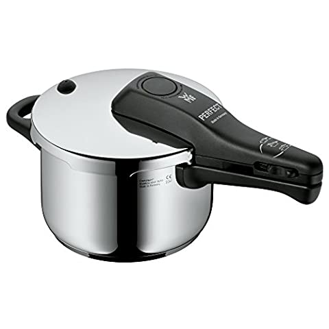 WMF Perfect Pressure cooker 2,5l without insert Ø 18cm Made in Germany internal scaling Cromargan stainless steel suitable for