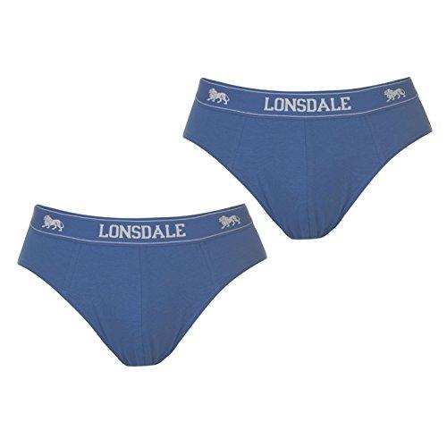 Lonsdale - Slips - para Hombre Azul M