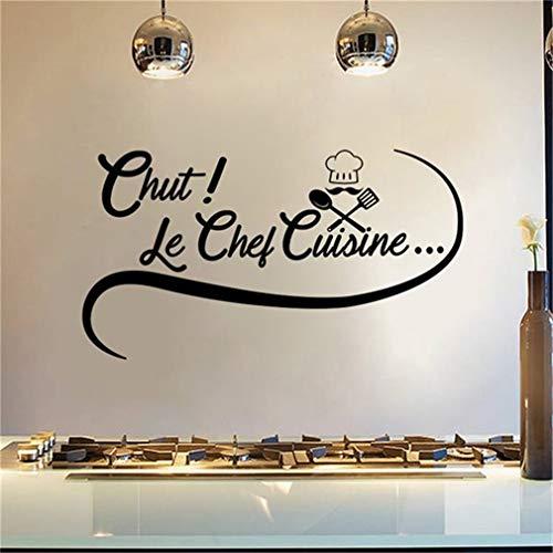 Stickers Muraux Cuisine Chut! Le Chef Cuisine Stickers Cuisine...