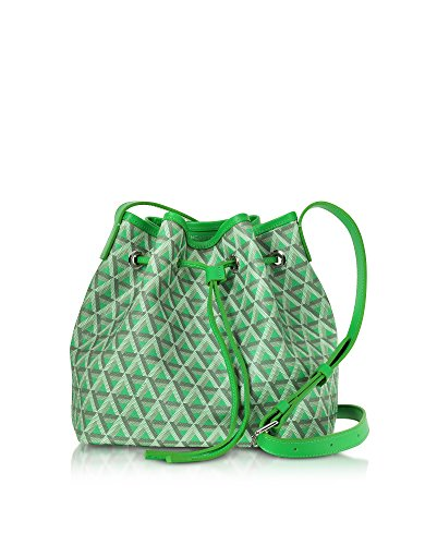 lancaster-paris-womens-41801vertpraine-green-cotton-shoulder-bag