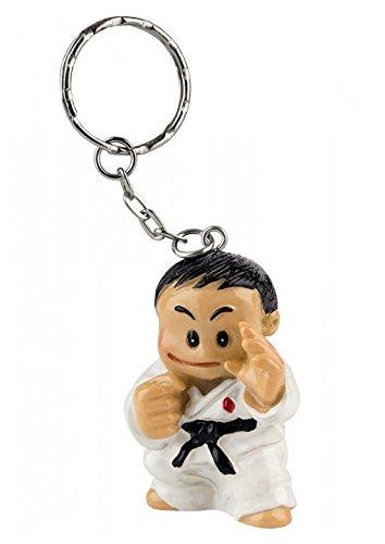 BAY® BUDO BOY FELIX Schlüsselanhänger Kampfsport Karate Judo Taekwondo Tae Kwon do Kinder Kids Kickboxen Kick-Boxen Budo Kung Fu Figur