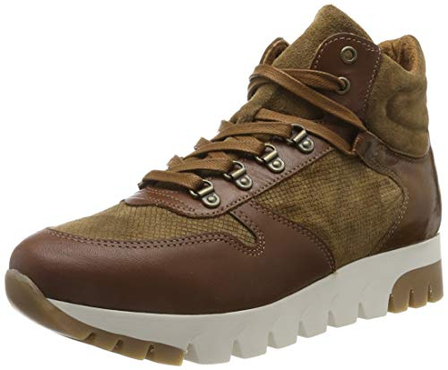 Tamaris Damen 1-1-25252-23 Hohe Sneaker, Braun (Cognac 305), 39 EU