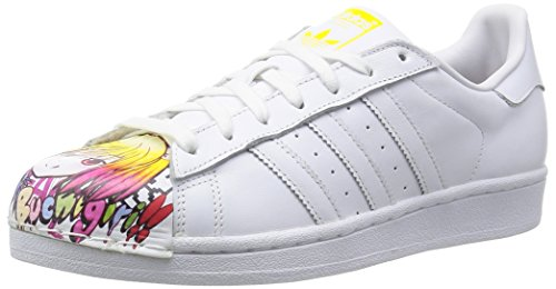 Superstar Pharrel Supershell, bianco / giallo, 42