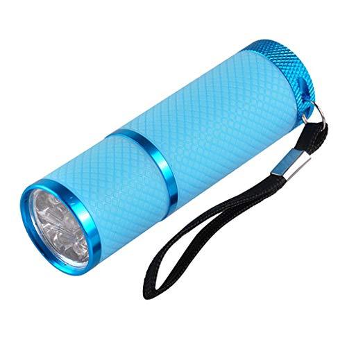 YOUQING Lámpara UV portátil de curado led de 12 w para el secado de uñas curado | gel de secado rápido...