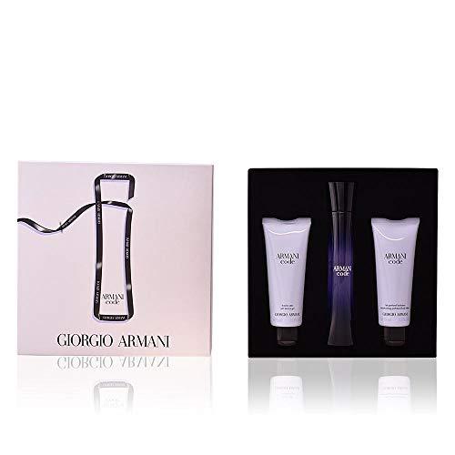 Armani Code Pour Femme, Set Regalo - 3 Piezas