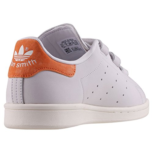 Adidas Stan Smith Cf W, Baskets Basses Athlétiques Blanches Pour Femme (blanc Cristal / Encre Légende 0)
