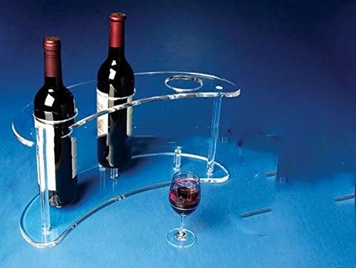 Weinregal Acryl Wein-Ausstellungsstand