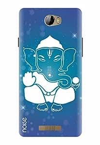 Noise Designer Printed Case / Cover for Karbonn Aura / Festivals & Occasions / White Ganesha Design