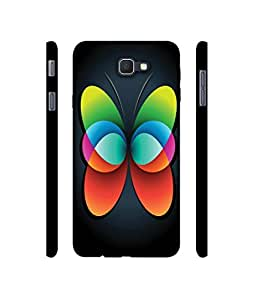 NattyCase Colourfull Butterfly Design 3D Printed Hard Back Case Cover for Samsung Galaxy On NXT
