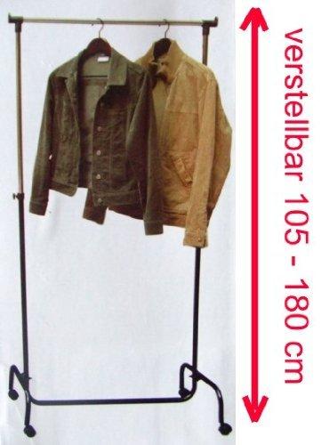 Kleiderwagen höhenverstellbar 105 - 180 cm