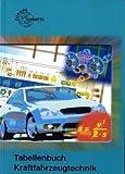 Tabellenbuch Kraftfahrzeugtechnik (ohne Formelsammlung): Tabellen - Formeln - Übersichten - Normen für Rechnen, Fachkunde, Werkstoffkunde, Zeichnen (Europa-Fachbuchreihe Kraftfahrzeugtechnik) - Hellmut Gerschler