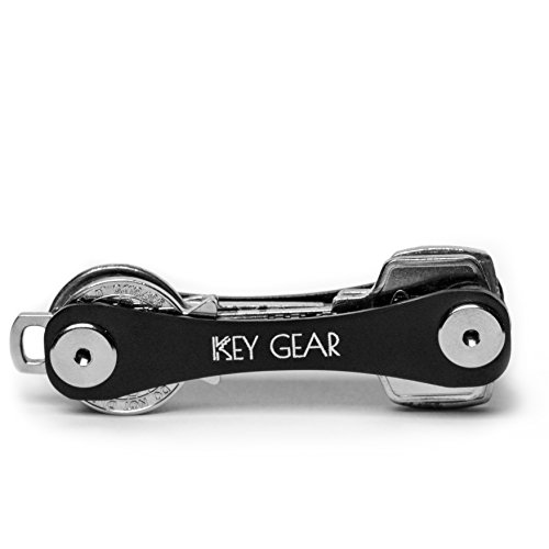 key-gear-portachiavi-unisex-adulti-nero-black-taglia-unica
