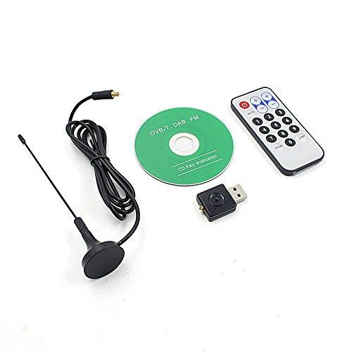 Funkelnden Sterne USB Digital DVB-T SDR FM & R820T HDTV Tuner Receiver Stick r820t2+ rtr2832u Chip sdrrs