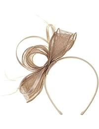 Lierys Antoina Fascinator Haarschmuck Anlasshut Haarreif für Damen und Kinder Hochzeitshut Anlasshut Winter Sommer