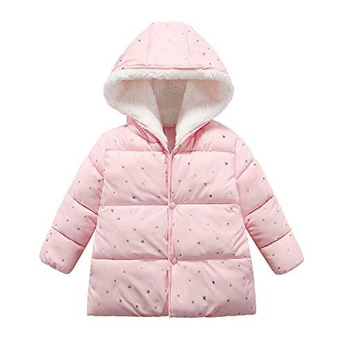 Kinder Mäntel Sunnydrain Kinder Jacken Hoodie Muster Fleece Reißverschluss Unisex Winter Warm Herbst Kapuzen Outerwear Baumwolle Langarm