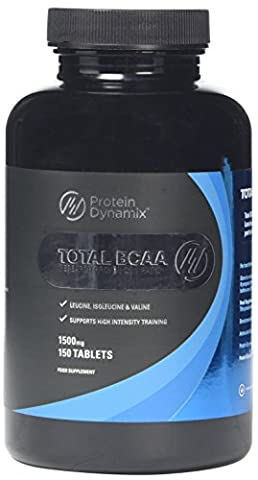 Protein Dynamix Total BCAA 1500 mg Branched Chain Amino Acid Tablets