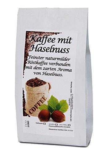 aromatisierter Kaffee Schoko Haselnuss, 500 g ganze Bohne