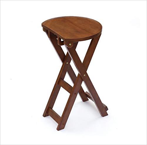 Chaise - tabouret pliant, banc de chaussure à la maison, tabouret de cuisine en bois massif / tabouret de bar minimaliste moderne / tabouret de table à manger / tabouret carré de loisirs portable