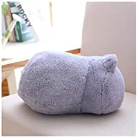 BBSJX Cat Plush Cushions Pillow Back Shadow Cat Filled Animal Pillow Stuffed Toys Kids Gift Home Decor For Christmas 33Cm
