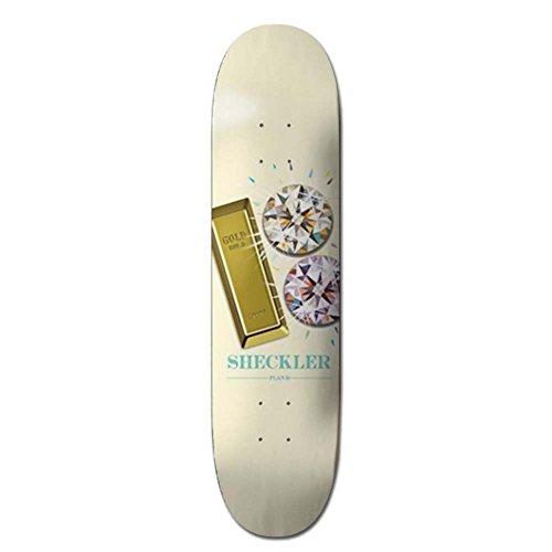 ProSpec Skateboard-Brett/Deck, 20,32 cm - Ryan Sheckler Bling - Grinder Skateboard