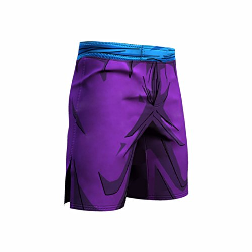 Men's 3D Dragon Ball Z Printed Trousers Light Purple