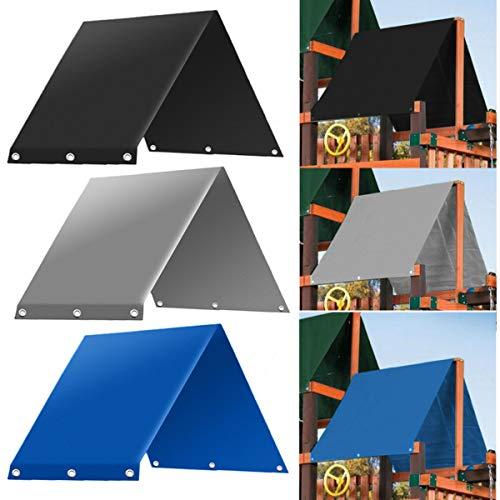 dDanke 132x226 cm Outdoor Kinderspielplatz Schaukeldach Sonnenschutz Ersatzplane Dach Wasserdicht Camping Zelt Sonnenschutz