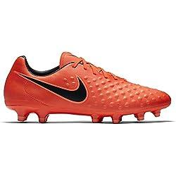 Nike Magista Onda II FG, Scarpe da Calcio Uomo, Rosso (Total Crimson/Black-Brght Mango), 43 EU
