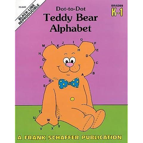 Teddy Bear Alphabet Dot-to-dot