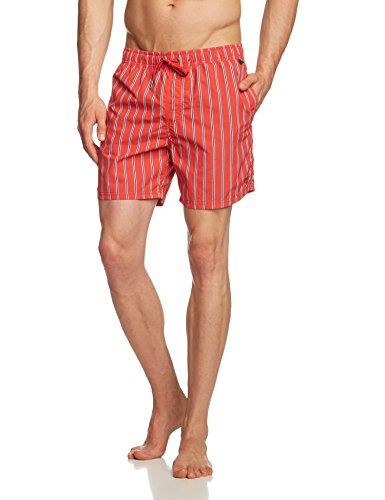 Marc O'Polo Body & Beach Swimshorts - Short de bain - Homme Rouge - Rot (rot 500)