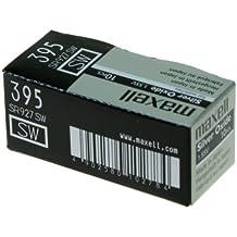 Maxell SR927 SW - 395 - Batería de Óxido de Plata 1.55V - PACK DE 10 UNIDADES