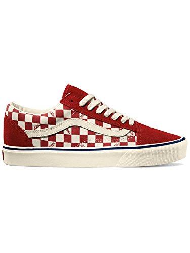 vans-unisex-adulto-old-skool-lite-chili-marshmallow-tela-suede-sneakers-rosso-36-eu